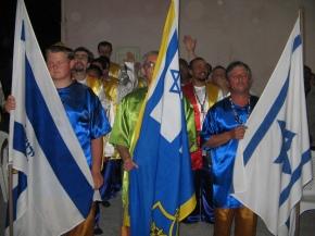 bandeiras brasil e israel